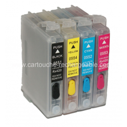 EPSON T0555 - CANARD (pack equivalent)