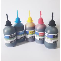 5 flacons 100ml compatible hp